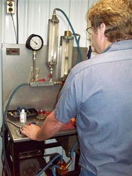 Labor: Flow Test Fuel System