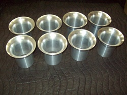 "2 11/16"" Aluminum Stacks (8) 3 3/4'' long"