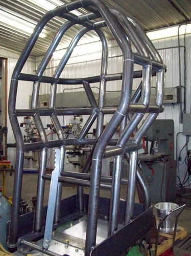 Tractor Roll Cage Kits : Pulling tractor roll cage chrome moly kit not welded